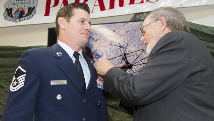 Bowerfind earns Bronze Star Medal