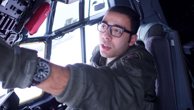 Senior Airman Moloney is Combat King loadmaster