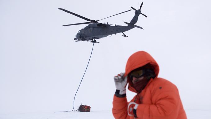 HH-60G slingload