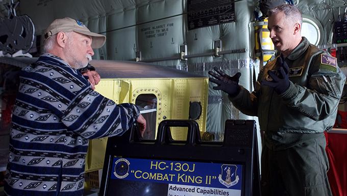 Guard Airmen make a splash at Great Alaska Aviation Gathering