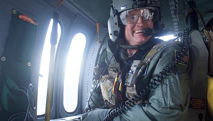 Alaska Air Guard command chief retires