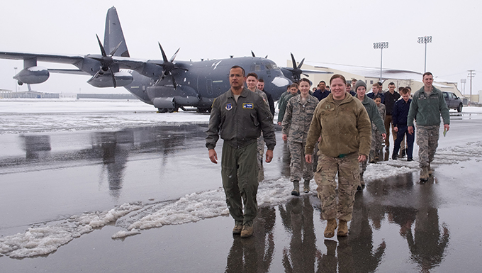176th Wing hosts Air Force ROTC.