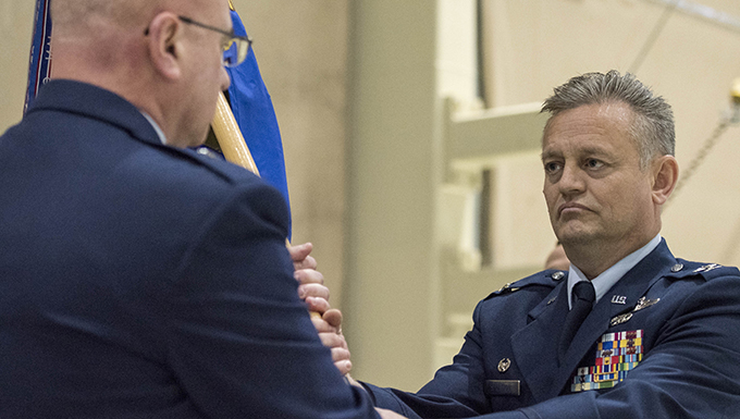 Stratton takes command of 176th Wing