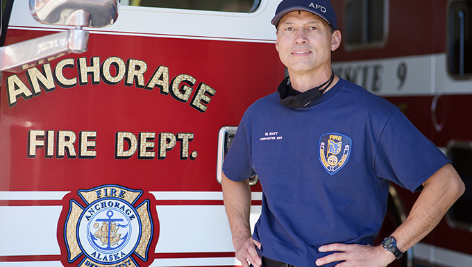 Retired 176th Wing PJ, firefighter partners with Guardian Angels for rescue